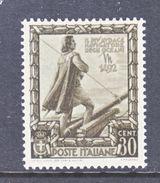 ITALY  403   **   COLUMBUS - 1900-44 Vittorio Emanuele III