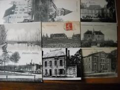 LOT N°1 De 30 CPA Du Départ 03 Allier - 3 Scans - Cartoline