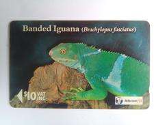 Fiji 19FJD Iguana $10 - Fiji