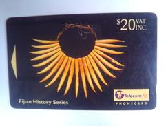 Fiji 23FJE History $20 - Fiji