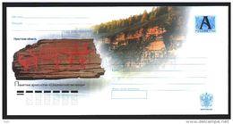 Russia Envelope Rock Painting Petroglyphic Zhivoris - Prehistorie