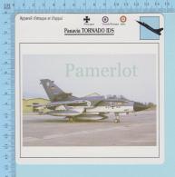 Aviation - Allemagne, G.B. Italie -Panavia Tornado Ids -  Attaque & Appui - Description Et Caracteristique - Aviation