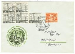 Suisse // Schweiz // Switzerland //  1950-1959 // Lettre  Expo St.Gall 1950 Pour Weissbad (Appenzell) - Lettres & Documents