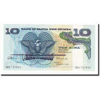 Papua New Guinea, 10 Kina, Undated (1985), KM:7, NEUF - Papouasie-Nouvelle-Guinée