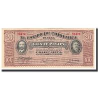 Mexico - Revolutionary, 20 Pesos, 1915, KM:S537a, SPL+ - Mexique