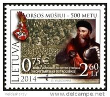 Lithuania 2014 Mih. 1169 Battle Of Orsha MNH ** - Lituania