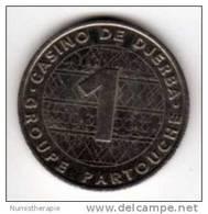 Casino De Djerba Tunisie 1 Dinar : Monnaie De Paris : Groupe Partouche - Casino