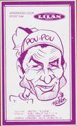 Sticker Autocollant Raymond Poulidor Pou-Pou Limousin Illustrator Rik Delnest Nesten Cartoon Wielrenner Coureur Cycliste - Aufkleber