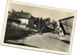 VAULRUZ ( Fribourg) Interieur Du Village Voiture Recto Verso - FR Fribourg