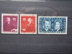 VEND BEAUX TIMBRES DU LIECHTENSTEIN N° 186 - 188 , XX !!! - Liechtenstein