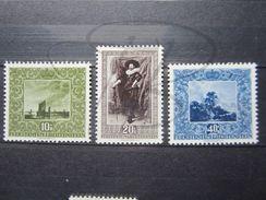 VEND BEAUX TIMBRES DU LIECHTENSTEIN N° 263 - 265 , XX !!! - Unused Stamps