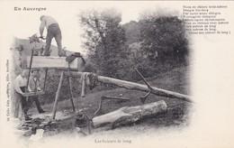 CPA - Métier - Scieurs De Long - En Auvergne - Métiers