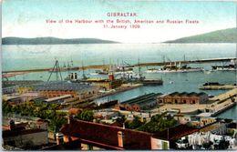 GIBRALTAR - View Of The Harbour - Gibraltar