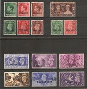 MOROCCO AGENCIES - TANGIER 1936 - 1948 SETS FINE USED Cat £24.95 - Morocco Agencies / Tangier (...-1958)