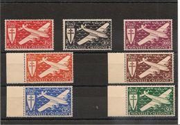 NOUVELLE CALEDONIE  P.A. Année 1942 N°Y/T :46/52** - Poste Aérienne