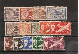 NOUVELLE CALEDONIE  P.A. Années 1942/43 N°Y/T :39/52** - Airmail