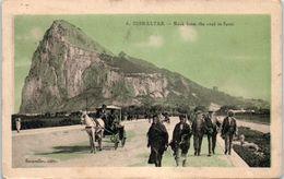 GIBRALTAR -- Rock From The Roal To Spain - Gibraltar