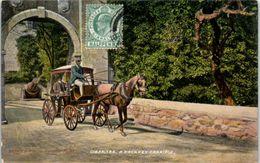 GIBRALTAR -- A Hackney Carriage - Gibraltar