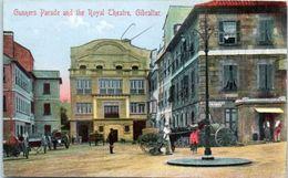 GIBRALTAR -- Gunners Parade And The Royal Theatre - Gibraltar