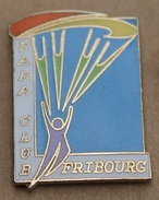 PARACHUTE - PARA CLUB FRIBOURG - SUISSE - SCHWEIZ - SWITZERLAND -       (10) - Parachutting