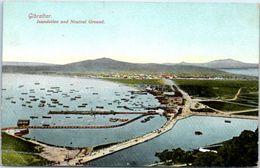 GIBRALTAR - Inundation And Neutral  Ground - Gibraltar