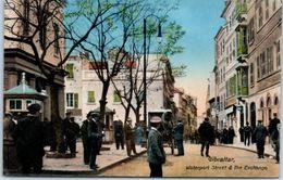 GIBRALTAR - Waterport Street & The Exchange - Gibraltar