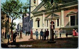 GIBRALTAR - Church Street - Gibraltar