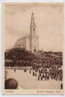FATIMA Multidao Assistindo  à Missa - Portugal
