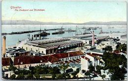 GIBRALTAR - The Dockard And Waorkshops - Gibraltar