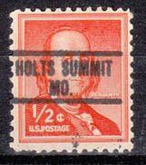 USA Precancel Vorausentwertung Preo, Locals Missouri, Holts Summit 813 - Vereinigte Staaten