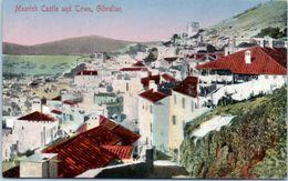 GIBRALTAR -- Moorish Castle And Town - Gibilterra