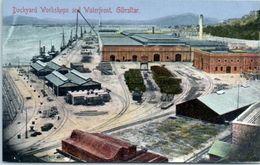 GIBRALTAR -- Dockard Workshops - Gibraltar