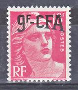 Réunion 303 Marianne De Gandon Surchargé  Neuf * * TB MnH SiN Charnela Cote 25 - Réunion (1852-1975)