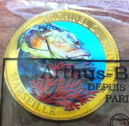 13 MARSEILLE ARCHIPEL DU FRIOUL MÉDAILLE ARTHUS BERTRAND 2011 EN COULEURS NUMÉROTÉE SOUS BLISTER JETON MEDALS TOKEN COIN - 2011
