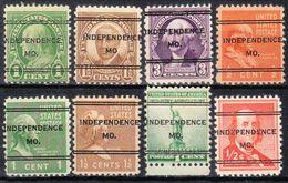USA Precancel Vorausentwertung Preo, Locals Missouri, Independence 247, 8 Diff. - Vereinigte Staaten