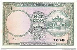 South Vietnam - Pick 1 - 1 Dong 1956 - AUnc - Viêt-Nam
