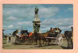 Cpa Cartes Postales Ancienne - Quebec Monument Champlain - Québec - Beauport