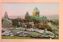 Cpa Cartes Postales Ancienne - Quebec Au Crepuscule - Québec - Beauport