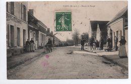 CLEFS (49) - ROUTE DE BAUGE - France