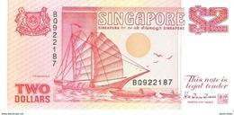 Singapore - Pick 27 - 2 Dollars 1990 - Unc - Singapour