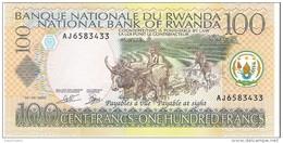 Rwanda - Pick 29b - 100 Francs 2003 - Unc - Ruanda