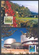 LIECHTENSTEIN - Annata Completa 1999 Maximum Karte - Liechtenstein