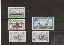 NOUVELLE CALEDONIE Bateaux Années 1968/1981 Lot** - Neukaledonien