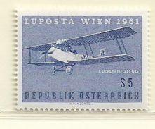 AUTRICHE  ( MD -  785 )  1961   N° YVERT ET TELLIER  N° 62   N** - Luftpost