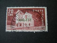 TRIESTE - AMGFTT. 1949, ELEZIONI DI TRIESTE, Usato TTB - 7. Triest