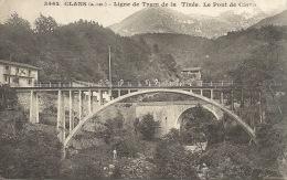 06  CLAN  LIGNE DE TRAM DE LA TINÉ  LE PONT - France