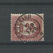 1875 N° 3  SERVICE FRANCO BOLLO 0.20  OBLITÉRÉ CAMERINO 6 FEV 76 TB - Dienstpost