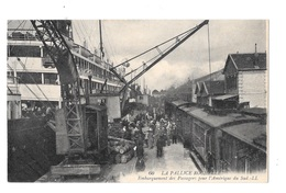 (16856-17) La Pallice Rochelle - Embarquement Des Passagers Pour L'Amérique Du Sud - La Rochelle