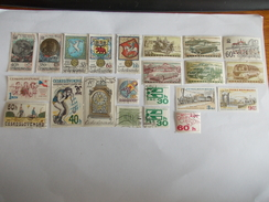 TIMBRE Tchécoslovaquie Ceskoslovensko Valeur 5.70 € - Tsjechoslowakije