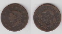 USA - 1 CENT 1832 - 1816-1839: Coronet Head